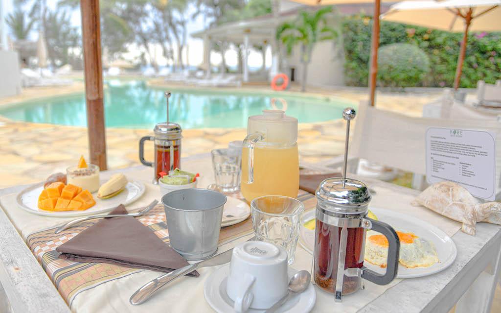 Kobe Suite Resort Breakfast
