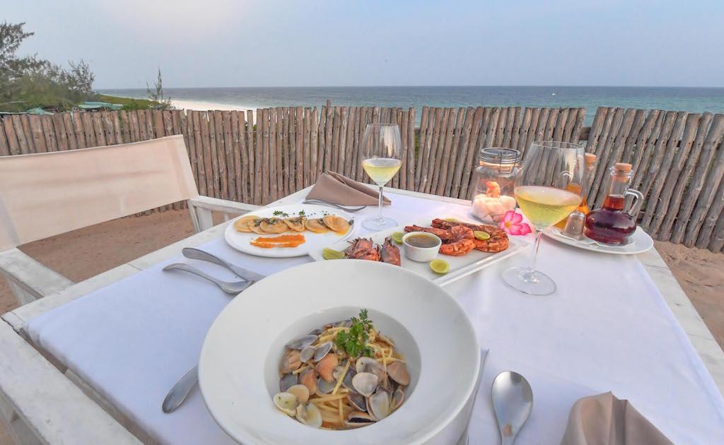 Kobe Suite Resort dinner